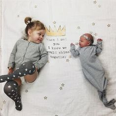 Shop the best brands in baby and kids clothing and accessories. Sibling Photo Shoots, Sibling Photos, Sibling Photography, Girl Photo Shoots, Newborn Pictures, Baby Pictures, Baby Photos, Photography Ideas, Baby Sister