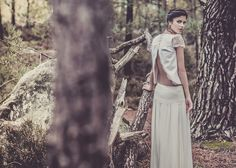 Laure Sagazan - New collection - 2013 - Dress Bridal - The bride barefoot