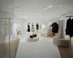 Boutiques, Shop Design Anne Fontaine New York USA | Made by James @lamaisonjames  @annefontaine