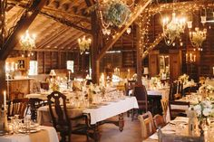 California Wedding: Rustic Chic Barn Romance - MODwedding