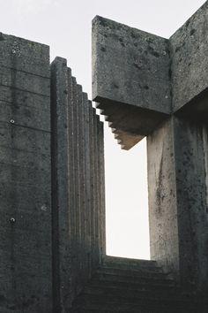Drawing Shadows To Stone — Brion Vega cemetery. Carlo Scarpa. january 2015.