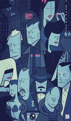 Blade Runner by Ale Giorgini