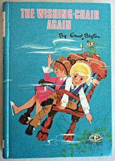 Vintage Enid Blyton 'The Wishing Chair Again' 1972 by AlphaBlocks, $8.50