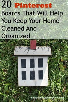 20 Pinterest Boards That Will Help You Keep Your Home Cleaned And Organized - Snail Pace Transformations