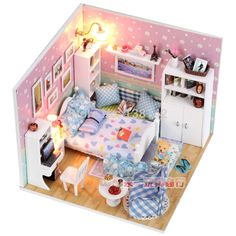 Cheap bedroom couple, Buy Quality m003 tablet directly from China m003 Suppliers: M010 Diy Doll House miniatura 3D DIY bedroom Wooden Dollhouse miniature Furniture For Children Toys dolls housesUSD 19.5