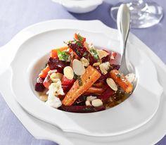 Im Ofen gebacken erhält dieses Gemüse einen würzigen Röstgeschmack – ein aussergewöhnlicher Salatgenuss.