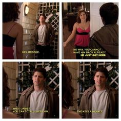 One Tree Hill |. I think that this is how a good parent should be sarcastic an LCD funny but also loving and struck when it is necessary. Nathan's and Haley portray this really well. That is why I think they are great parents.