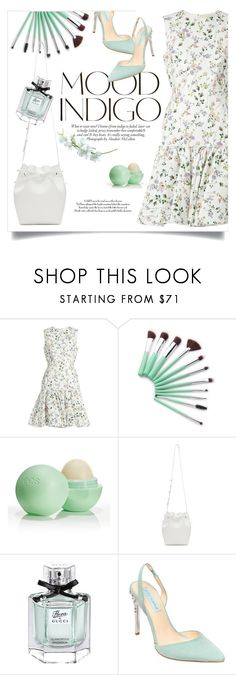 """""""Fresh Air"""" by fanfanfanfannnn ❤ liked on Polyvore featuring Giambattista Valli, ANNA, Eos, Mansur Gavriel, Gucci and Betsey Johnson"""