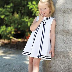 """who can resist this Sailor Dress. Inspired from a Vintage piece in my closet...yes, Im """"vintage"""""""