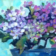 "Daily+Paintworks+-+""Purple+Mist""+-+Original+Fine+Art+for+Sale+-+©+Libby+Anderson"