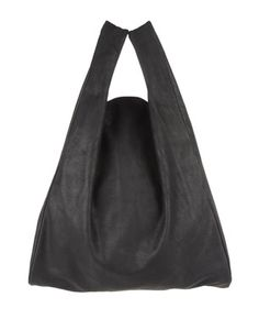 Who needs a plastic bag for groceries when you have this leather Maison Martin Margiela || bag