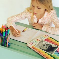 Personalized kids sketch books and doodle books from www.macaroon.co.za