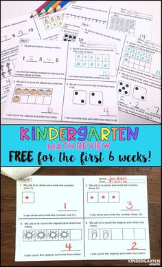 Grab the first 6 weeks for FREE! A great way to reinforce number sense!