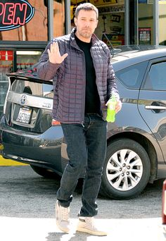 Ben Affleck refreshed with what appeared to be a bottle of Mountain Dew at a gas station in L.A.'s Brentwood nabe April 9.