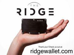 The Ridge: Front Pocket Wallet by Daniel Kane — Kickstarter