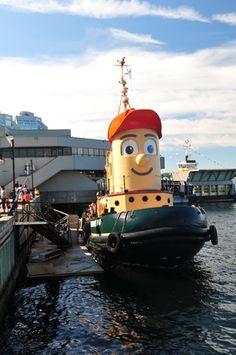 Theodore Tugboat in Halifax, NS