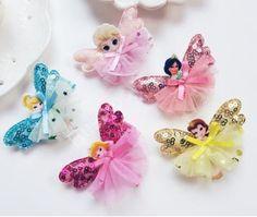 Girl Frozen Elsa Anna Hair Clip, 10pcs