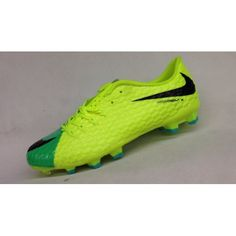 detailed look d88bc 6bb47 Buy Nike Hypervenom III FG Yellow Green Blue Online Soccer Shoes