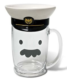Pilot Beer Mug & Lid | Daily deals for moms, babies and kids
