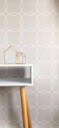 Circles wallpaper  #wallpaper #walldecor #removablewallpaper #selfadhesivewallpaper