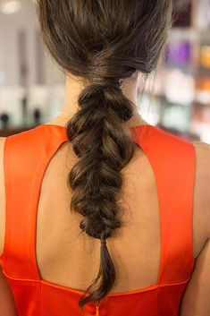 Get the Inside-Out Braid Right Off the Mara Hoffman Runway: We adore an intricate braid, and apparently the fashion designers love them, too!