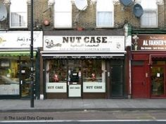Nuts. But particularly the nuts from the Arab specialists at Nut Case. It's still not clear if the owner get the irony of name.