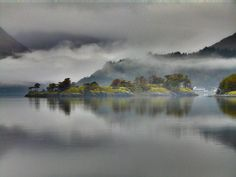 The Burial Isle in Loch Leven, Highlands, is a sea loch on the west coast of Scotland. There are nine small islands in the loch, some rocky and covered with heather and some just smooth green grass.