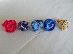Crochet Rings. | Maparim