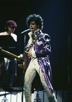 A Look at Prince's Sexy 4-Decade Style Reign: Circa 1984
