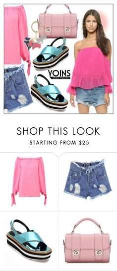 """""""Yoins #113"""" by whirlypath ❤ liked on Polyvore featuring T-Bags Los Angeles and Radley"""