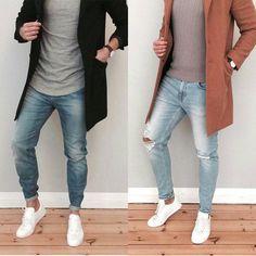 """좋아요 7,756개, 댓글 70개 - Instagram의 Men's Street Fashion & Style(@streetsfashions)님: """"Left or Right? @mensfashions . . Photo @monsieur_sourissss . . . #fashionblogger #fashionshow…"""""""