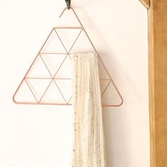 Umbra Copper Triangle Pendant Scarf Hanger