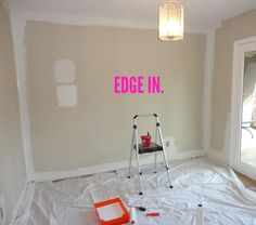Beau How To Paint A Room In 10 Easy Steps: A Complete Tutorial With Everything  You
