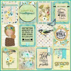 Journal Stickers, Journal Cards, Planner Stickers, Junk Journal, Journaling, Printable Stickers, Printable Paper, Bible Doodling, Scrapbook Blog