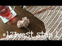 Iedereen kan haken© #123vest stap 1 how to crochet a singlet, (different languages subtitled). - YouTube