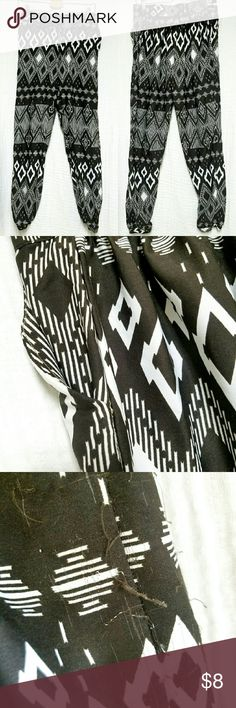 """Tribal Polyester Jogger Pants Elastic waistband pockets"""" small defect on side see picture Pants Track Pants & Joggers"""