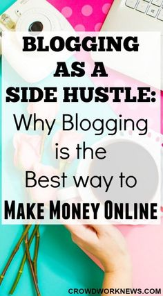 I started my blog almost 6 months ago and now I am making a good side income from it. Read this post to find out why blogging is a great side hustle.
