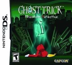 NINTENDO DS NDS GAME GHOST TRICK: PHANTOM DETECTIVE BRAND NEW & FACTORY SEALED