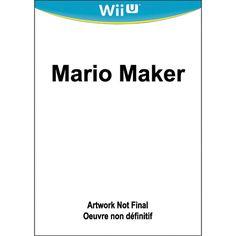 Mario Maker (Nintendo Wii U) $73.00