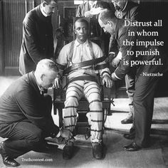 When Winston was put in the electric chair in room 101 it made me think of prisoners on death row in prison. Friedrich Nietzsche, Evil People, Criminal Minds, Serial Killers, True Crime, Just In Case, The Past, Death, Thing 1