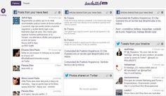 Backstitch: crea una página de inicio personalizada con tus feeds sociales, noticias y fotografías