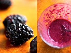 Blackberry Lime Smoothie With Chia Seeds and Cashews - NYTimes.com