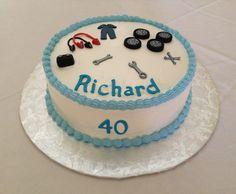 Car/Mechanic cake