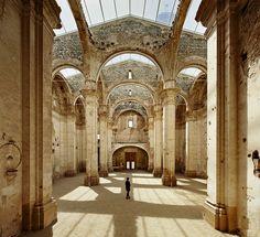 Ferran Vizoso Architecture - Project - 1 HUGE SKYLIGHT CHURCH