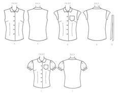 B6563 | Butterick Patterns | Sewing Patterns