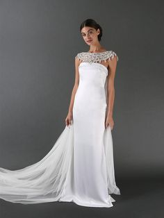 Randi Rahm Fall 2017: Sophisticated Wedding Dresses With Unexpected Details   TheKnot.com
