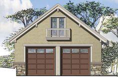 Craftsman Plan: 838 Square Feet, 1 Bathroom - 035-00857 Garage Plans, Shed Plans, Garage Doors, Garage Ideas, Garage Design, House Design, Floor Plan Drawing, Barn House Plans, Barn Plans