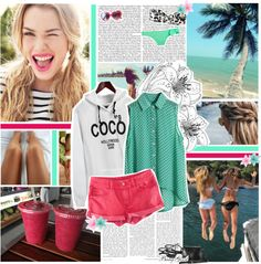 """""""'Can't fight my mind, keeps on coming back to you; always back to you.' ♥"""" by ikaley ❤ liked on Polyvore"""