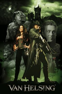 Van Helsing- Hugh Jackman and Kate Beckinsale Hd Movies, Horror Movies, Love Movie, Movie Tv, Movies Showing, Movies And Tv Shows, Film Mythique, Cinema, Movie Posters