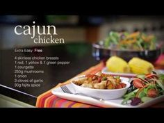 Cajun chicken - Recipes - Slimming World